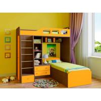 Подростковая кровать РВ-Мебель двухъярусная Астра 4 (дуб шамони)