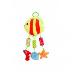 Подвесная игрушка Bertoni (Lorelli) мягкая Toys Рыбка и компания