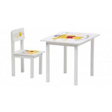 Polini Комплект детской мебели Disney baby 105 S Медвежонок Винни