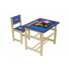 Polini Комплект растущей детской мебели Kids Fun 400 SM Маша и Медведь