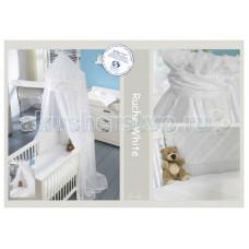 Постельное белье Anel Baby Ruche White (2 предмета)