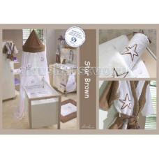 Постельное белье Anel Star Brown (2 предмета)