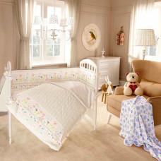 Постельное белье Baby Nice (ОТК) Саванна (4 предмета)