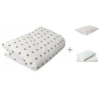 Постельное белье Forest kids Пододеяльник + комплект наволочек + одеяло и подушка