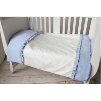 Постельное белье Krisfi 1.5 спальное Голубые сны (3 предмета)