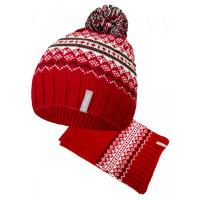 ПриКиндер Шапка и шарф для мальчика MK3-2109