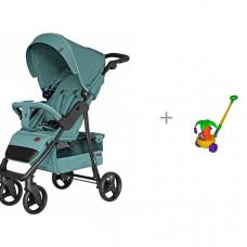 Прогулочная коляска Carrello Quattro и каталка-игрушка Molto Пальма