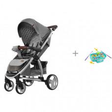 Прогулочная коляска Carrello Vista и обучающая игрушка Рыбалка 939570 Жирафики