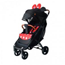 Прогулочная коляска Yoya Pro Max черная рама