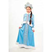 Пуговка Карнавальный костюм Снегурочка Танюша Новогодняя сказка