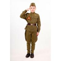 Пуговка Карнавальный костюм Солдат Патриоты 2032 к-18
