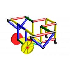 Quadro Конструктор крупногабаритный My First Quadro с дополнительными колесами