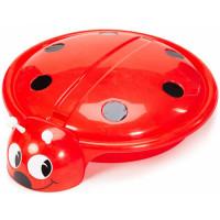 R-Toys Песочница-бассейн Божья коровка