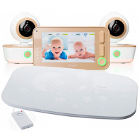 Ramili Видеоняня с двумя камерами и монитором дыхания Baby RV1300X2SP