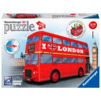 Ravensburger 3D Пазл Лондонский автобус 216 элементов