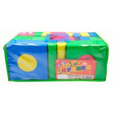 Развивающая игрушка ABtoys Кубики мягкие (48 предметов)
