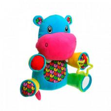 Развивающая игрушка Bondibon Бегемот 22,5 см