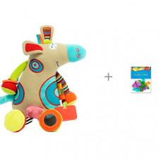 Развивающая игрушка Dolce Коровка и пайетки декоративные Колокольчик Апплика