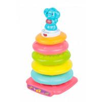Развивающая игрушка Red Box Музыкальная пирамидка Слоник