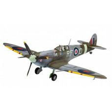 Revell Британский самолет Спитфайр с клеем, красками и кисточкой