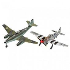 Revell Набор сборных моделей истребитель Me262 и истребитель P-51B