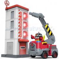 Робокар Поли (Robocar Poli) Пожарная станция с фигуркой Рой