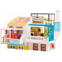 Robotime Кукольный дом интерьерный Любимый сосед (148 элементов)