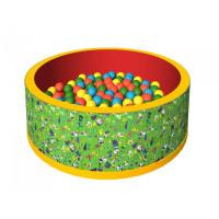 Romana Сухой бассейн Веселая полянка 150 шариков