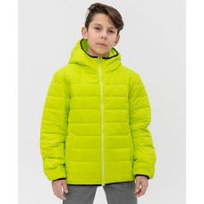 Салатовая куртка Button Blue 121BBBB41015500