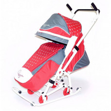 Санки-коляска R-Toys Скользяшки Мозаика