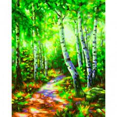 Schipper Картина по номерам Березовый лес 24х30 см