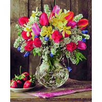 Schipper Картина по номерам Цветы из домашнего сада 40х50 см