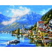Schipper Картина по номерам На озере Халльштатт 40х50 см