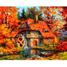 Schipper Картина по номерам Старая мельница 24х30 см