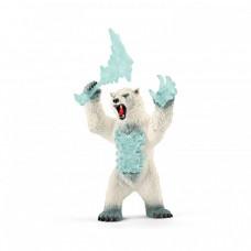 Schleich Фигурка Снежный медведь с оружием