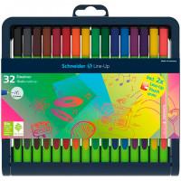 Schneider Набор капиллярных ручек Line-Up 30 цветов 32 шт.