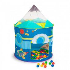 SevillaBaby Игровой домик + 100 шаров Космический корабль