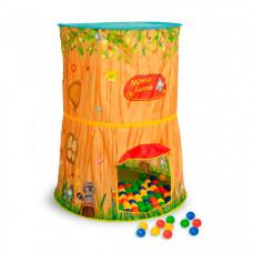 SevillaBaby Игровой домик + 100 шаров Лесной домик Мимо