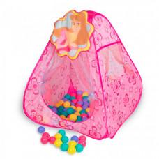 SevillaBaby Игровой домик + 100 шаров Принцесса