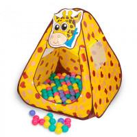 SevillaBaby Игровой домик + 100 шаров Жираф
