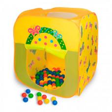 SevillaBaby Игровой домик квадратный + 100 шаров Баттерфляй