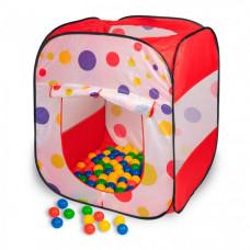 SevillaBaby Игровой домик квадратный + 100 шаров Чудесный