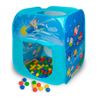 SevillaBaby Игровой домик квадратный + 100 шаров Океан