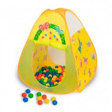 SevillaBaby Игровой домик треугольный + 100 шаров Баттерфляй