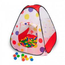 SevillaBaby Игровой домик треугольный + 100 шаров Чудесный