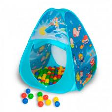 SevillaBaby Игровой домик треугольный + 100 шаров Океан