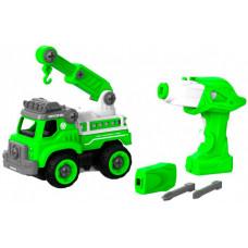 Shantou Bhs Toys Набор пластмассовых деталей Подъемный кран с пультом ДУ 1CSC20003904