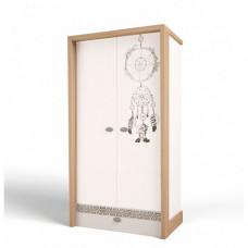 Шкаф ABC-King 2-х дверный 2 Mix Ловец снов