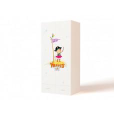 Шкаф ABC-King 2-х дверный Pirates