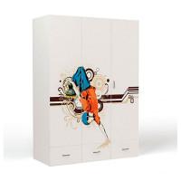 Шкаф ABC-King 3-х дверный Extreme Roller